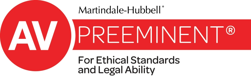 Martindale-Hubbell, Preeminent: For Ethical Standard and Legal Ability