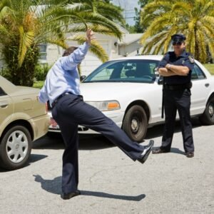 field sobriety test refusal