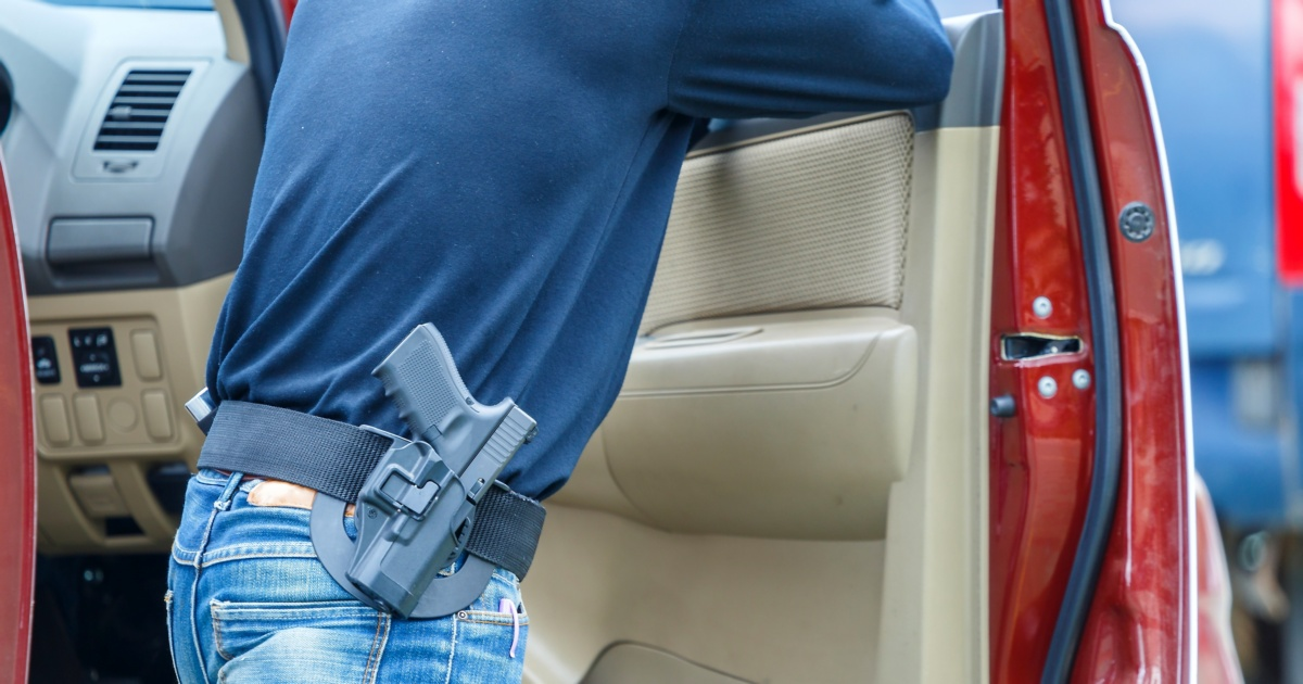 texas open carry natural disasters